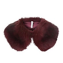 Buy Hobbs Annie Collar, Bordeaux Online at johnlewis.com