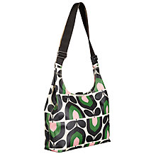 Buy Orla Kiely Stripe Tulip Midi Sling Handbag, Green Online at johnlewis.com