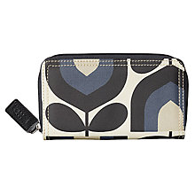 Buy Orla Kiely Stripe Tulip Canvas Purse Online at johnlewis.com
