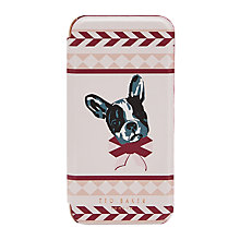 Buy Ted Baker Mertual Cotton Dog Print iPhone 6s Case, Dusty Pink Online at johnlewis.com