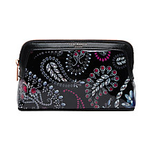 Buy Ted Baker Ithine Make-Up Bag, Black Online at johnlewis.com