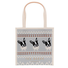 Buy Ted Baker Anscon Fair Isle Small Shopper Bag Online at johnlewis.com