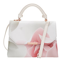 Buy Ted Baker Callita Across Body Bag, Nude Pink Online at johnlewis.com