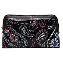 Buy Ted Baker Malliy Large Wash Bag, Black Online at johnlewis.com