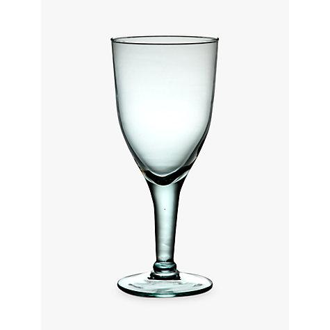 buy john lewis recycled wine glass 420ml clear john lewis. Black Bedroom Furniture Sets. Home Design Ideas