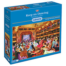 Buy Gibsons Keep On Dancing Jigsaw Puzzle, 1000 Pieces Online at johnlewis.com