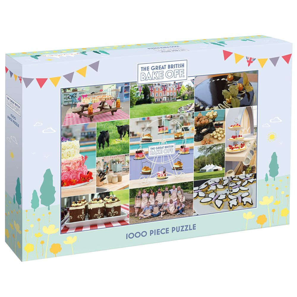 Gibsons Gibsons The Great British Bake Off Puzzle, 1000 Pieces