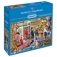 Buy Gibsons Herbert's Hardware Shop Jigsaw Puzzle, 1000 pieces Online at johnlewis.com