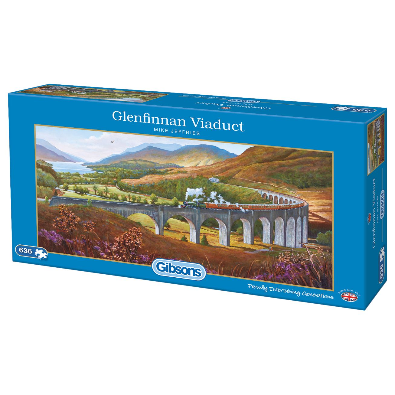 Gibsons Gibsons Glenfinnan Viaduct Jigsaw Puzzle, 636 Pieces