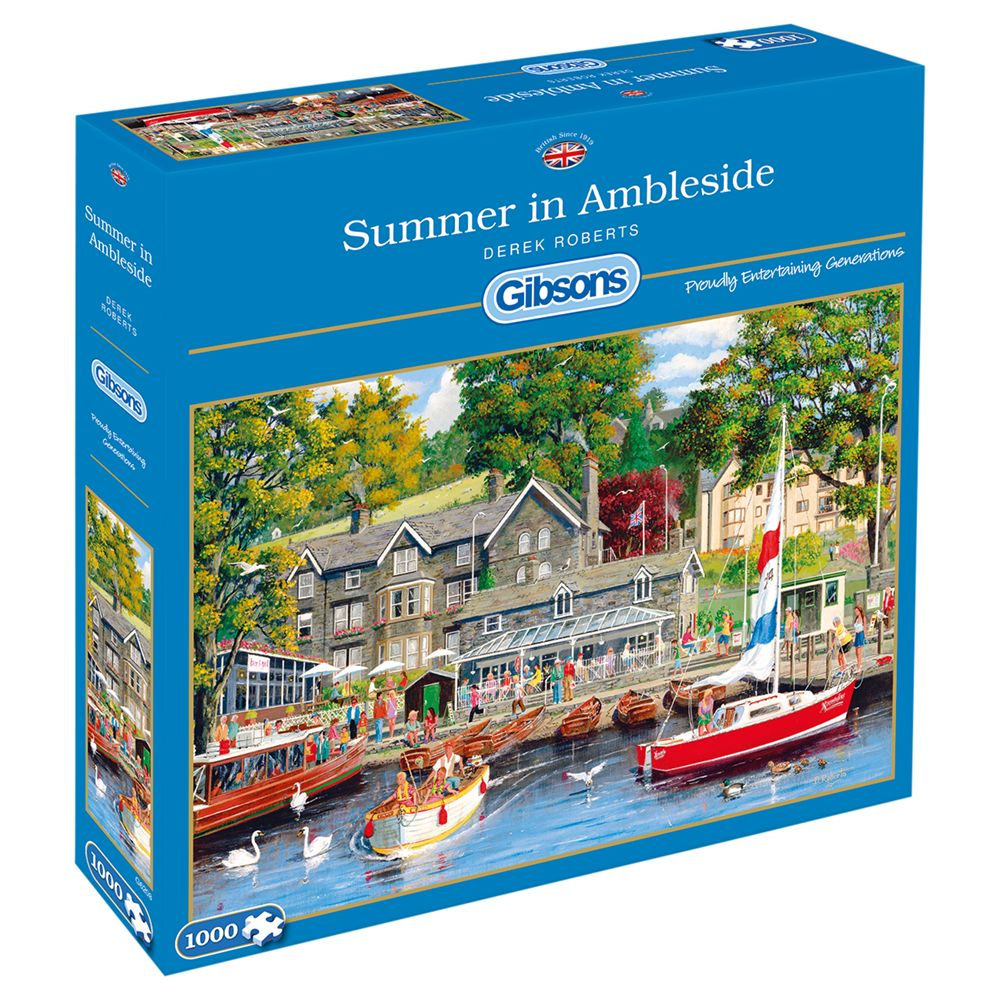 Gibsons Gibsons Ambleside Jigsaw Puzzle, 1000 pieces