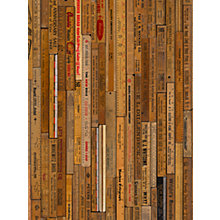 Buy NLXL Printed Rulers Small Wallpaper, MRV-05 Online at johnlewis.com