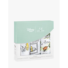 Buy Aden + Anais Disney Winnie The Pooh Muslin Musy Cloths, Pack of 3 Online at johnlewis.com