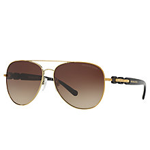 Buy Michael Kors MK1015 Pandora I Aviator Sunglasses Online at johnlewis.com