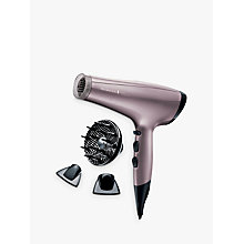 Buy Remington AC8006 Keratin Radiance Dryer, Lilac Online at johnlewis.com