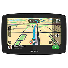 Buy TomTom GO 620 Sat Nav with WiFi and Lifetime World Maps, UK & Republic of Ireland Online at johnlewis.com