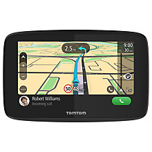 Buy TomTom GO 520 Sat Nav with WiFi and Lifetime World Maps, UK & Republic of Ireland Online at johnlewis.com