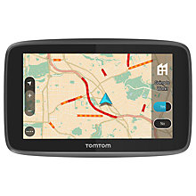 Buy TomTom GO 5200 Sat Nav with WiFi, Lifetime World Maps and Unlimited Data & Roaming, UK & Republic of Ireland Online at johnlewis.com