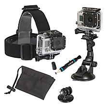 Buy GoPro Sunpak 5 Piece Action Camera Accessory Kit 2 Online at johnlewis.com