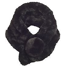 Buy Chesca Knitted Faux Fur Collar Online at johnlewis.com