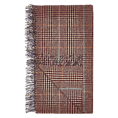 Bronte by Moon Houndstooth Wallace Check Throw