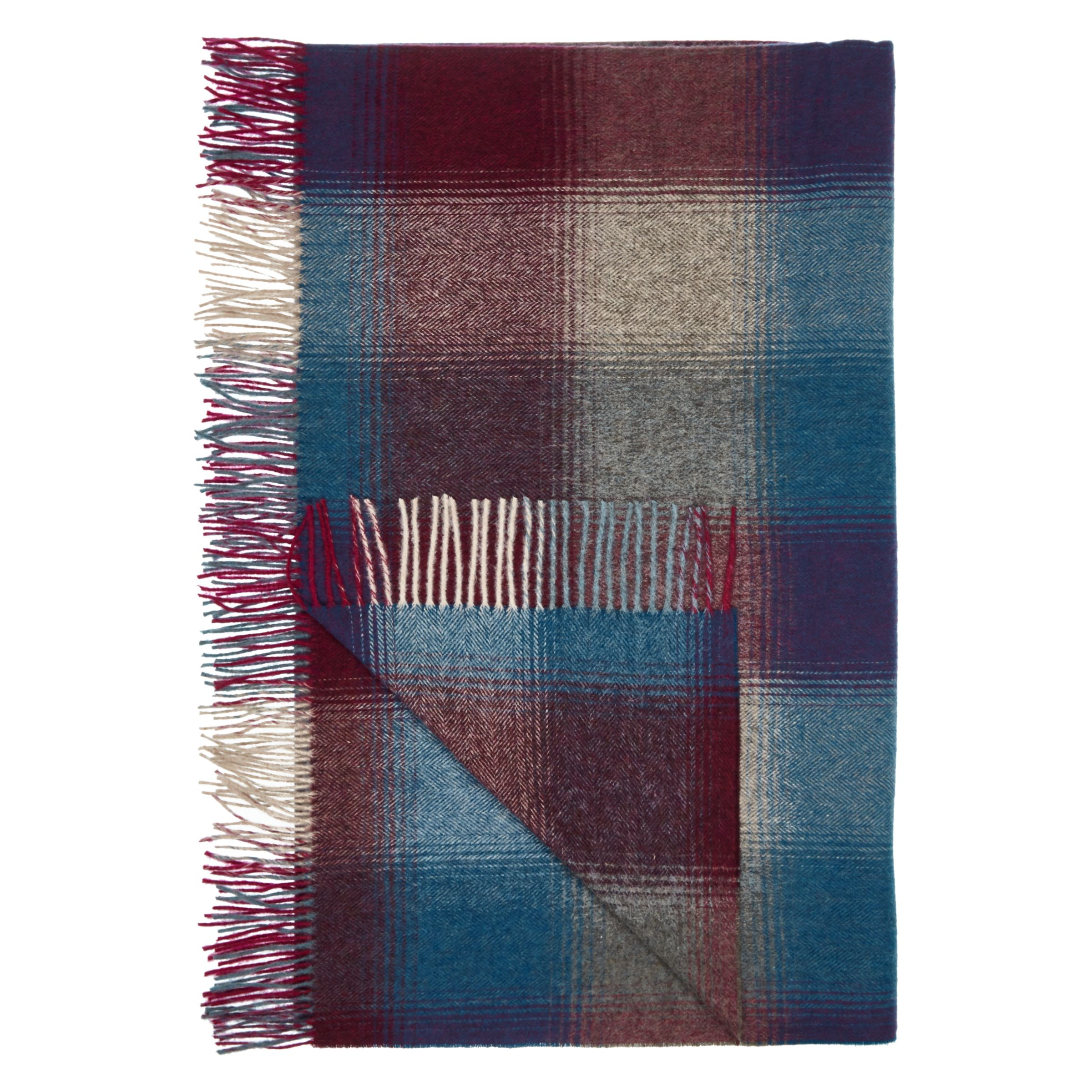 Bronte by Moon Bronte by Moon Midnight Check Herringbone Throw