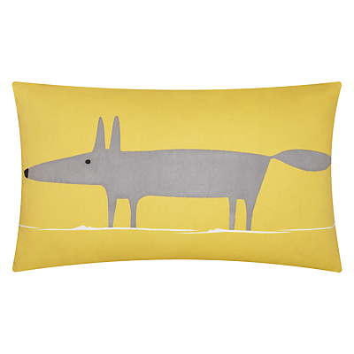 Scion Mr Fox Cushion