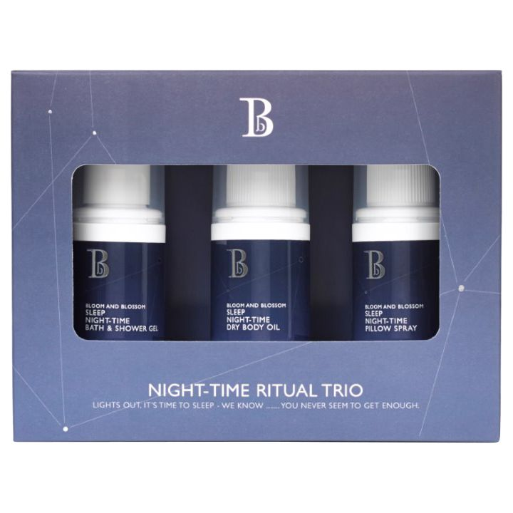 Bloom and Blossom Bloom and Blossom Night Time Ritual Trio