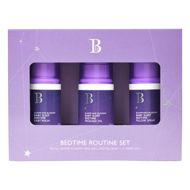 Bloom and Blossom Bloom and Blossom Baby Sleep Bedtime Routine Trio Set