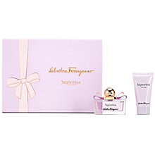 Buy Salvatore Ferragamo Signorina 50ml Eau de Parfum Fragrance Gift Set Online at johnlewis.com