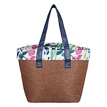 Buy John Lewis Country Hessian Tote Coolbag Online at johnlewis.com
