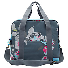 Buy Joules Grey Floral Cool Bag Online at johnlewis.com
