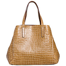Buy Gerard Darel Le Simple Two Tote Bag, Honey Online at johnlewis.com