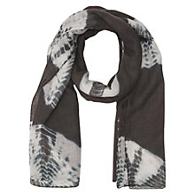 Buy Gerard Darel Shibori Scarf, Grey Online at johnlewis.com