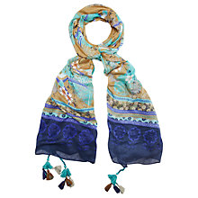 Buy White Stuff Soaring Birds Scarf, Multi Online at johnlewis.com