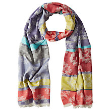 Buy White Stuff Merchant Jacquard Scarf, Multi Online at johnlewis.com