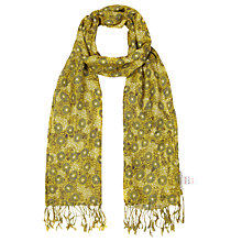 Buy White Stuff Daisy Ditsy Scarf, Yellow Online at johnlewis.com