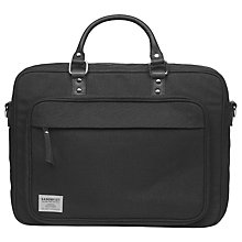Buy Sandqvist Pontus Urban Laptop Bag, Black Online at johnlewis.com