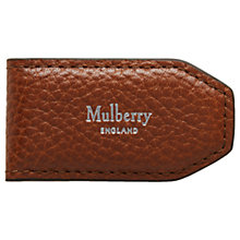 Buy Mulberry Leather Money Clip Online at johnlewis.com