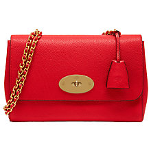 Buy Mulberry Medium Lily Leather Shoulder Bag Online at johnlewis.com