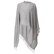 Buy Phase Eight Cashmere Blend Wrap, Light Grey Online at johnlewis.com