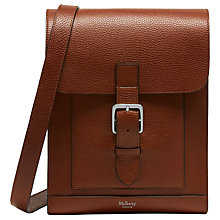 Buy Mulberry Chiltern Small Buckle Messenger, Oak Online at johnlewis.com