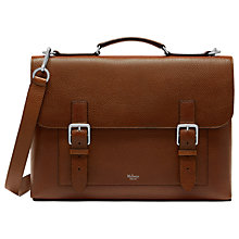 Buy Mulberry Chiltern Buckle Briefcase Online at johnlewis.com