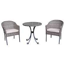 Buy LG Outdoor Marseille Bistro Set, Praia Online at johnlewis.com