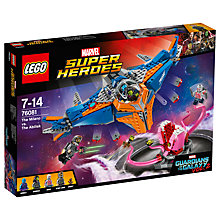 Buy LEGO Marvel Super Heroes 76081 Guardians of the Galaxy 2: The Milano vs The Abilisk Online at johnlewis.com