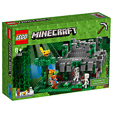 Buy LEGO Minecraft 21132 The Jungle Temple Online at johnlewis.com