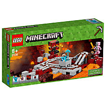 Buy LEGO Minecraft 21130 The Nether Railway Online at johnlewis.com