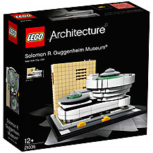 Buy LEGO Architecture 21035 Solomon R Guggenheim Museum Online at johnlewis.com