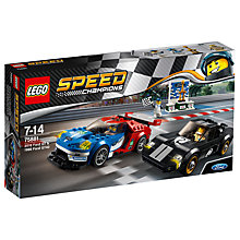 Buy LEGO Speed Champions 75881 Ford GT & 96 Ford GT40 Online at johnlewis.com