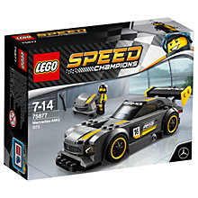 Buy LEGO Speed Champions 75877 Mercedes AMG GT3 Sports Car Online at johnlewis.com