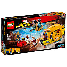 Buy LEGO Marvel Super Heroes 76080 Guardians of the Galaxy 2: Ayesha's Revenge Online at johnlewis.com